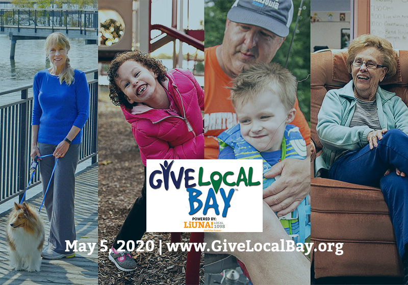 How You Can Help for Give Local Bay on May 5
