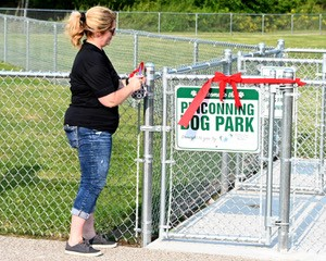 Pinconning Dog Park Opening Day August 2020