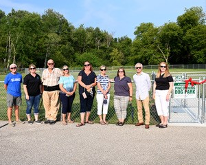 PinconningDogPark OpeningDay August2020 committee